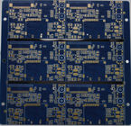 Half Holes High Density PCB , Printed Circuit Board Prototype  Immersion Gold Surface Finishing