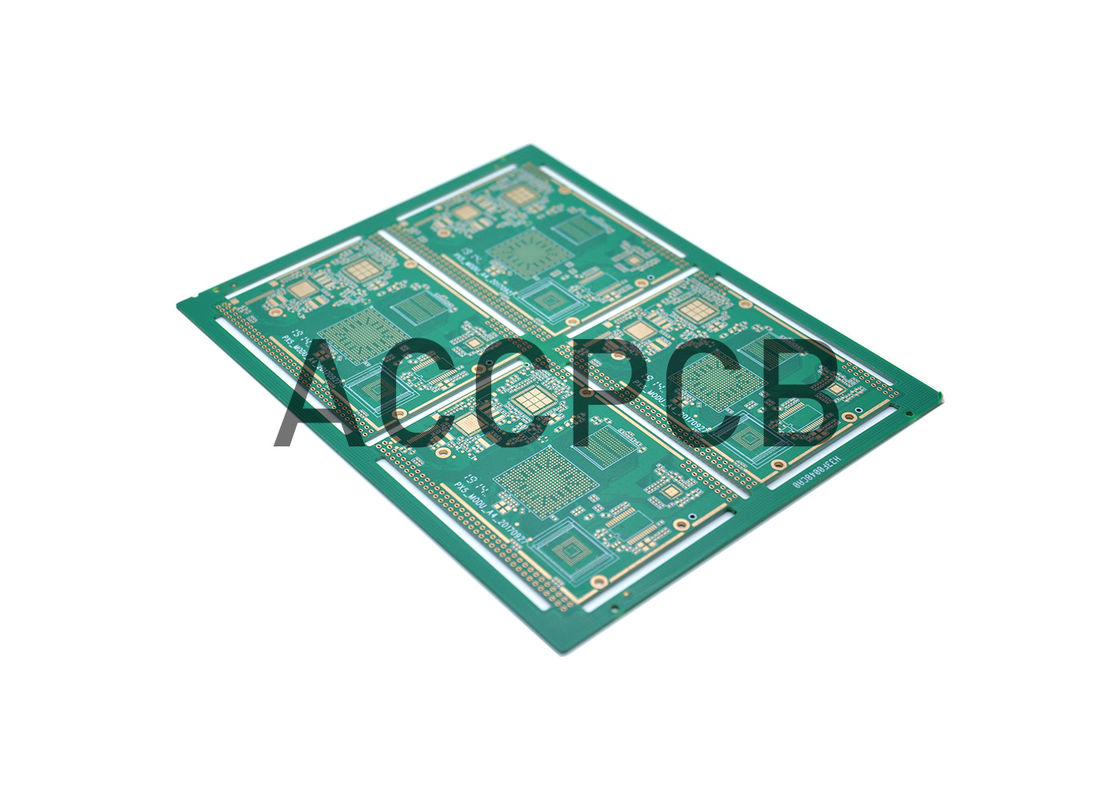 OEM Cistomized HDI PCB Board ENIG Surface Finish 6 Layer 2 Step ITEQ FR4 TG150