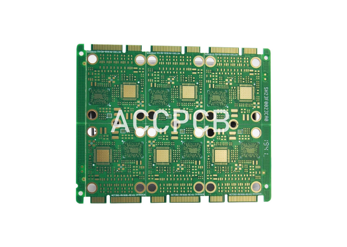 Green Soldermask LED light PCB Board Smd LED Circuit Board  RoHS 94v0 UL Compliance